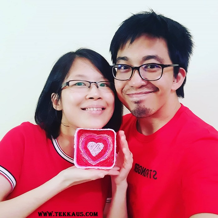 3D Printed Heart Basket Gift For Valentine's Day