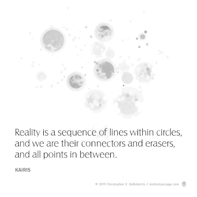 A Saying of Kairis (Reality Dots) (Remix) Copyright 2019 Christopher V. DeRobertis. All rights reserved. insilentpassage.com