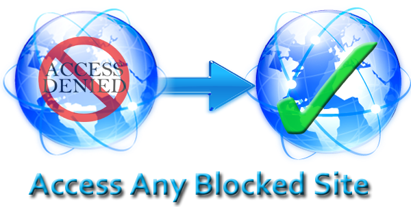 How to open blocked sites in any country without using proxy