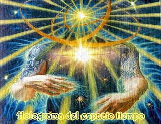 En este momento ya saben que están dentro de un holograma tridimensional regido por el espacio tiempo, lo que los mantiene en la ilusión y sus fantasías, y la necesidad de acceder a la genuina realidad  de su Ser.