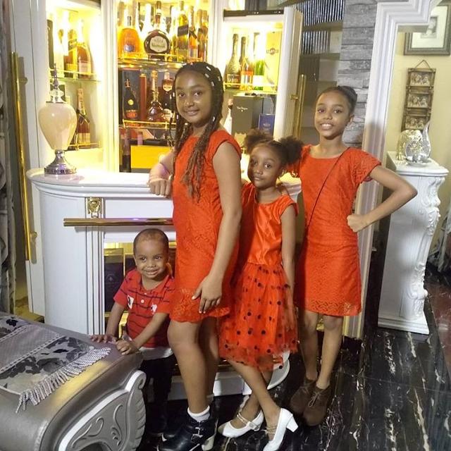 Chinenye, Chidinma, and Chisom Oguike Hilary