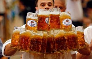 Έρευνα: Η μπύρα φέρνει την... ευτυχία