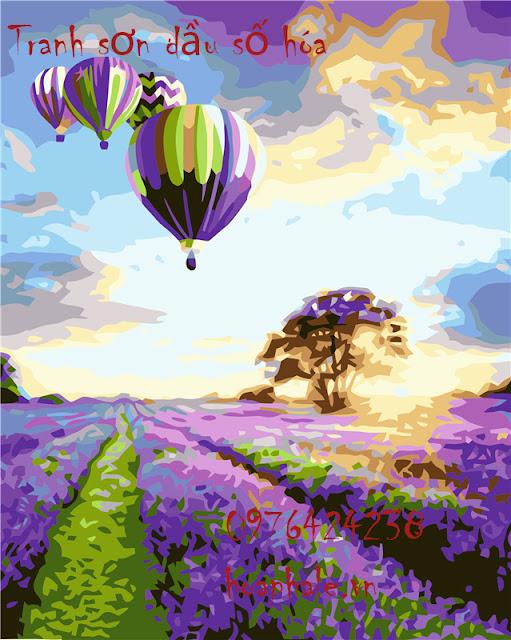 Tranh son dau so hoa o Le Dai Hanh