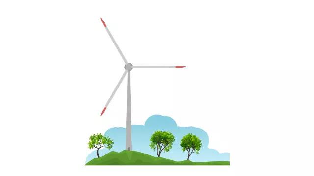 Wind Turbines Have Three Blades