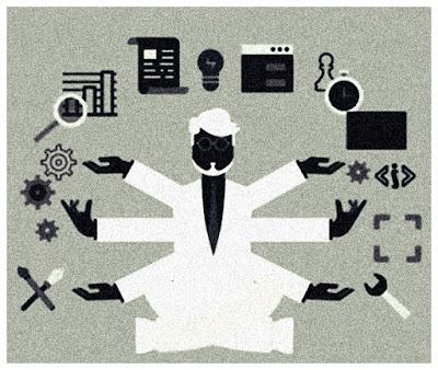 Imagem ilustrativa de um assistente virtual.