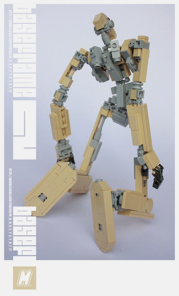 Super Punch Poseable Lego Mech With Instructions