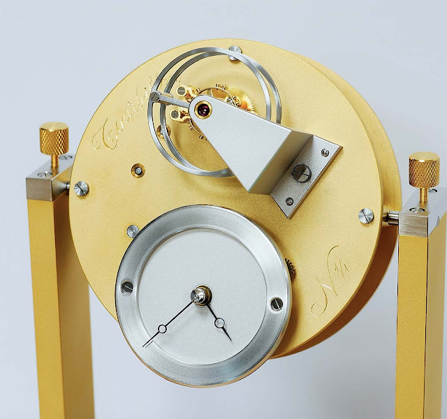 Remy Cools Tourbillon table clock