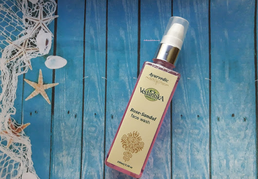 Keep your skin clean this winter with Vedantika Herbals Rose - Sandal Face Wash