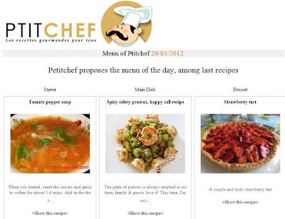 petitchef features spicy celery prawns recipe
