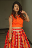 Shubhangi Bant in Orange Lehenga Choli Stunning Beauty ~  Exclusive Celebrities Galleries 074.JPG