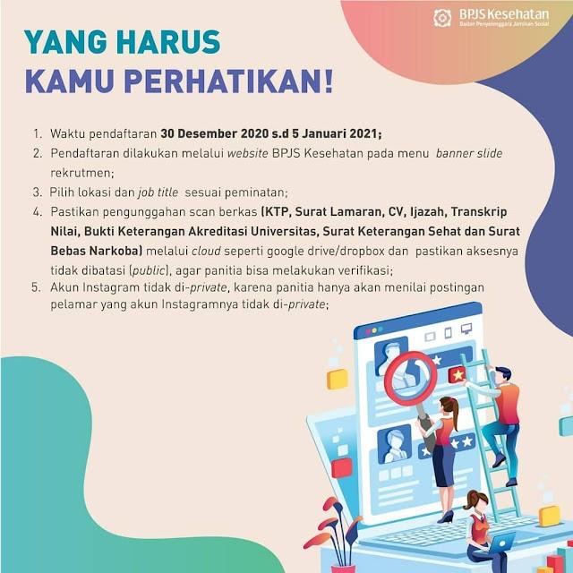 Rekrutmen Pegawai Tidak Tetap (PTT) BPJS Kesehatan Di Seluruh Indonesia