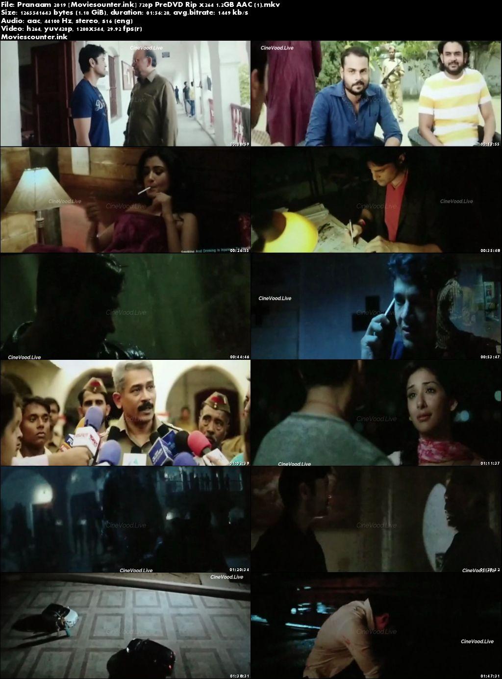 Screen Shots Pranaam 2019 Hindi HD 720p