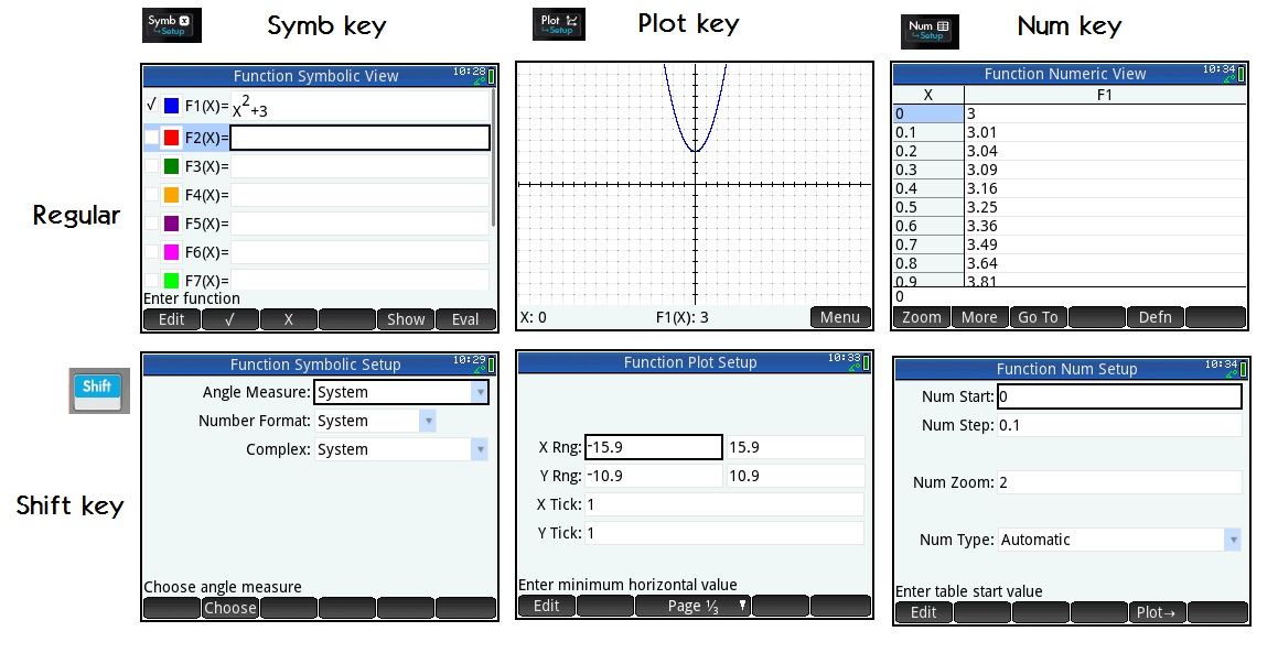 Eddie's Math and Calculator Blog: HP Prime: The Basics of