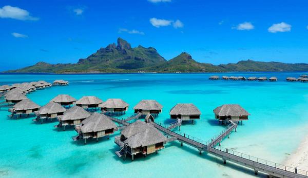 Pulau Bora Bora, Tahiti