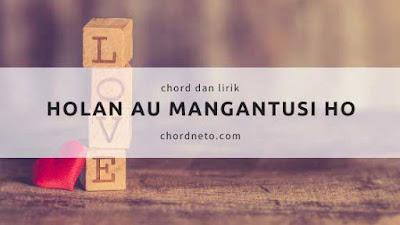 chord lagu holan au Do mangantusi ho