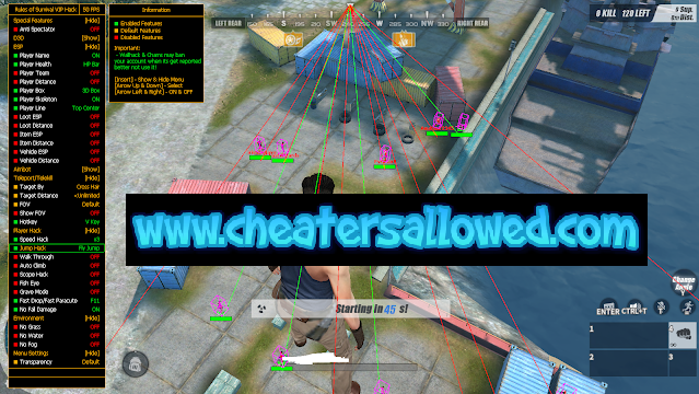 Rules Of Survival Hax4You Free VIP Cheat