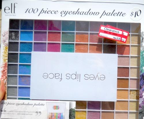 elf 100 eyeshadow palette target