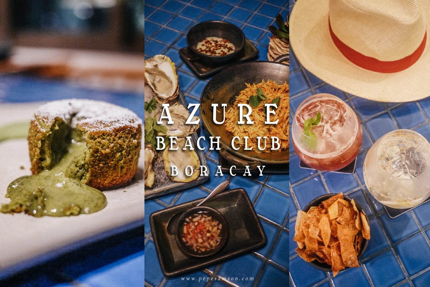 Fine Asian Food at Azure Beach Club Boracay