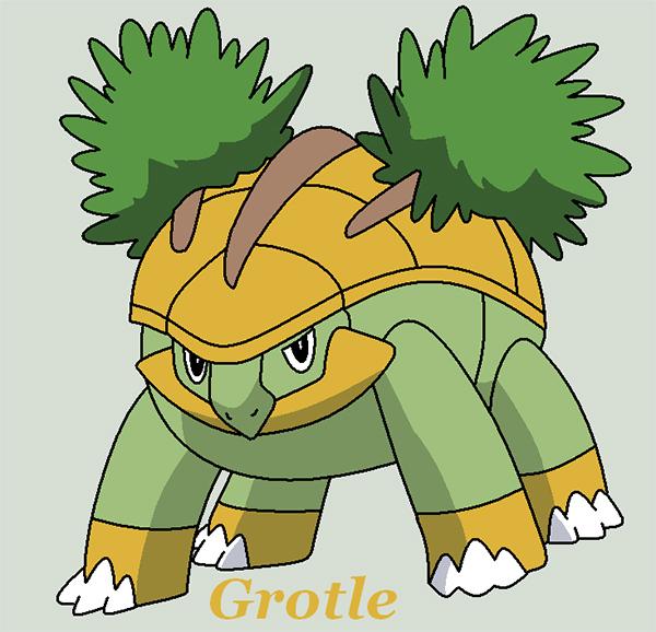 Pokemon Grotle