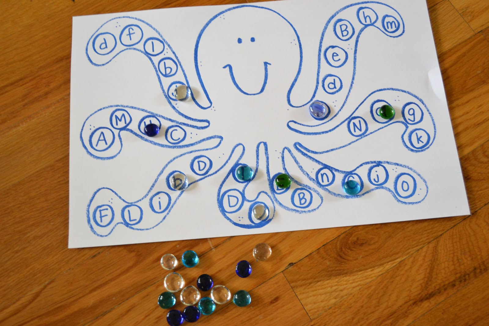 From The Hive Oo Octopus Day Preschool Style