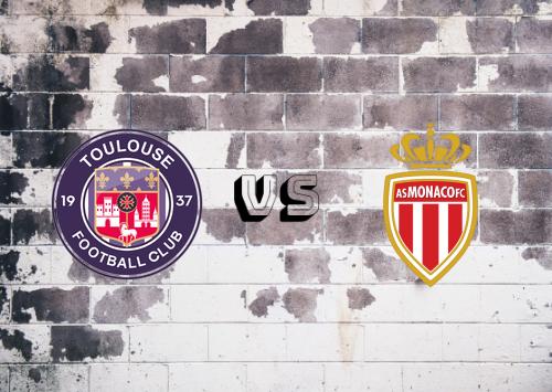 Toulouse vs AS Monaco  Resumen
