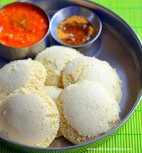Jowar idli without rice