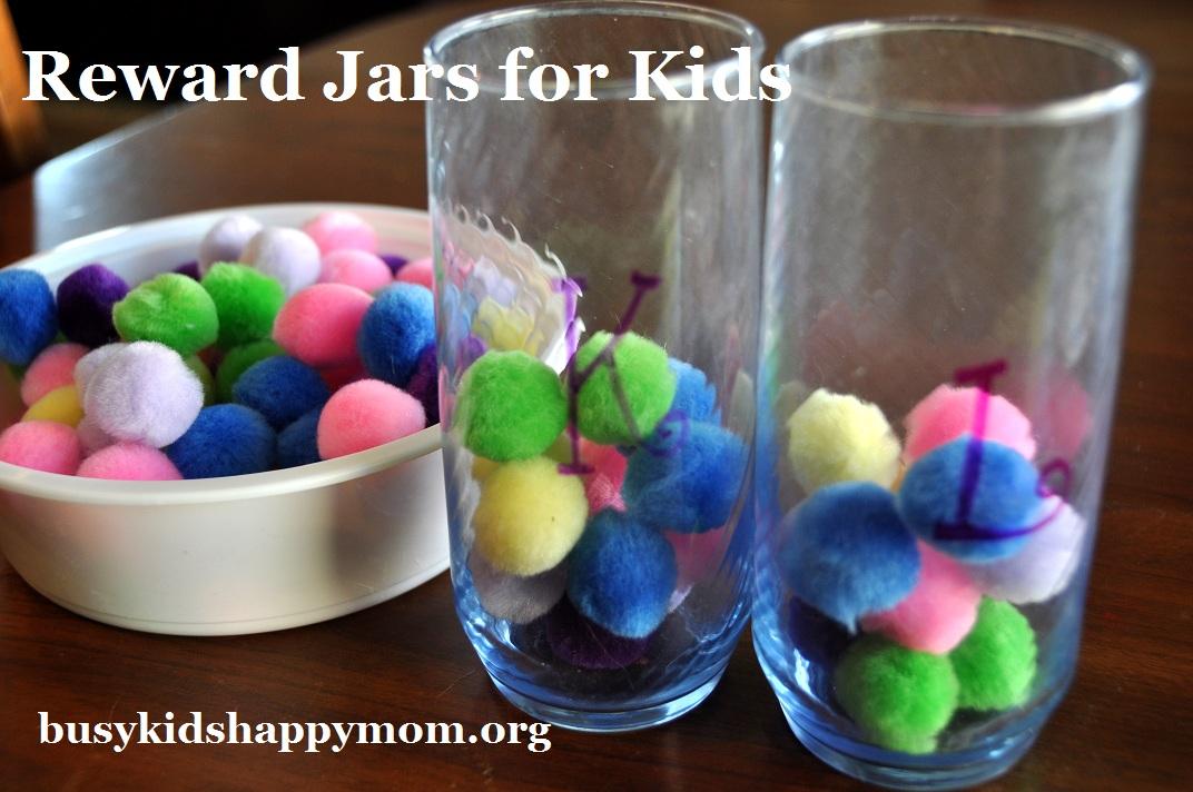Guest Post Pom Pom Jar Reward Jar Busy Kids Happy Mom