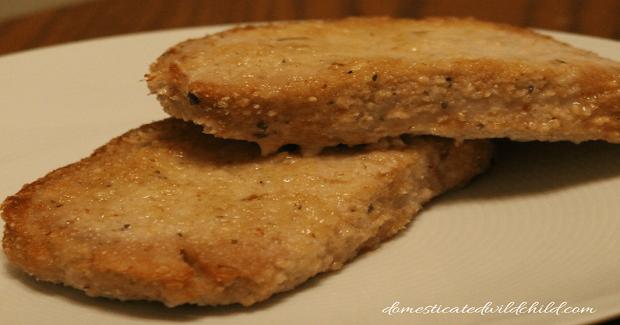 Parmesan Crusted Pork Chops Recipe