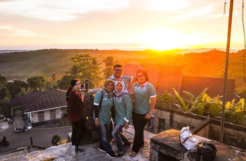 Desa Bawomataluo Nias Selatan Dikenal Sebutan Tempat 'Matahari Terbit'