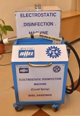 Electrostatic-Disinfection-Machine