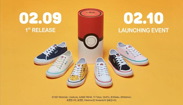 Se anuncian zapatillas de Pokémon