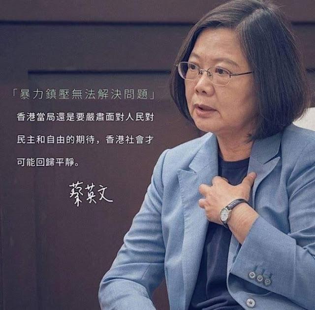 Nữ Tổng thống Đài Loan: Miễn là tôi còn ngồi đây, tôi sẽ hy sinh hết mình