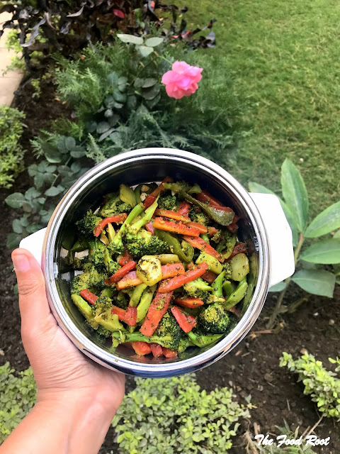 Sautéed broccoli and carrots is a colourful and delicious side dish. It's super simple and super easy to make. It's one of our family's favourite meals recipe.