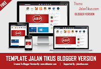 Template Jalan Tikus Blogger Version