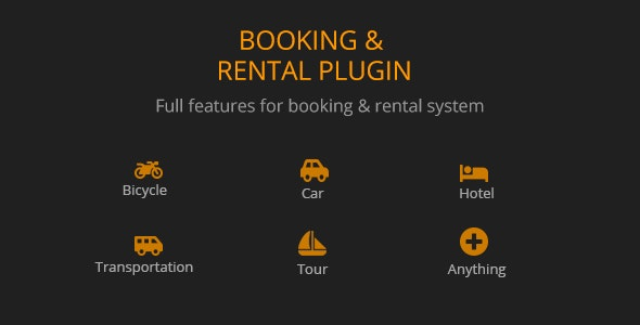 BRW v1.2.1 - Booking Rental Plugin WooCommerce