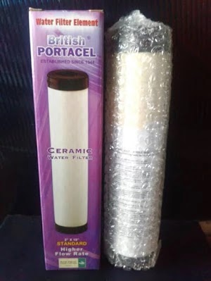 Ceramik filter british portacel