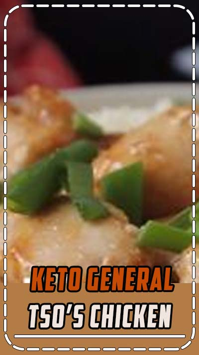 Looking for a keto dinner idea? Try this low carb General Tso's Chicken with Cauliflower Rice! #generaltsoschicken #generaltsochicken #Chicken #KetoChicken #KetoDinner #KetoLunch #Keto #Ketosis #ketoresults #KetoDiet #KetoVale #Ketofam #ketofamily #Ketogenic #ketogenicdiet #ketogeniclife #ketogeniclifestyle #ketogenicliving #ketorecipes #LowCarb #LowCarbDiet #LCHF #ketolifestyle #ketofriendly #ketolife