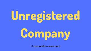 unregistered company