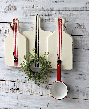 Cutting Board Wall Hook Display
