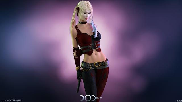 DC Designs, Harley Quinn, 3D Art, Daz Studio