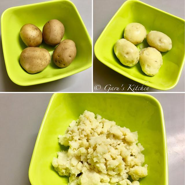 samosa pinwheels recipe | samosa bites recipe | aloo bhakarwadi recipe
