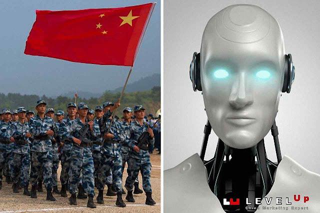 O objetivo da IA da China está a serviço do Exército do Povo
