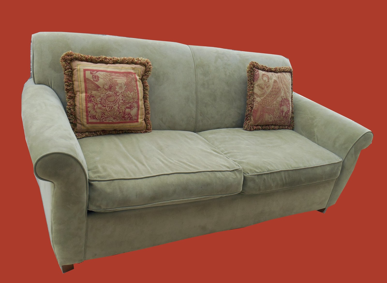 Uhuru Furniture Amp Collectibles Ultrasuede Tightback 2