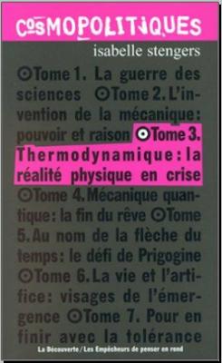 Télécharger Livre Gratuit Tome 3 Thermodynamique, La realite physique en crise pdf