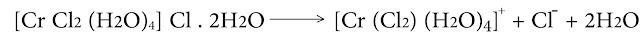 كلور الرباعي ماء ثنائي كلورو كروم المميه بجزيئتي ماء