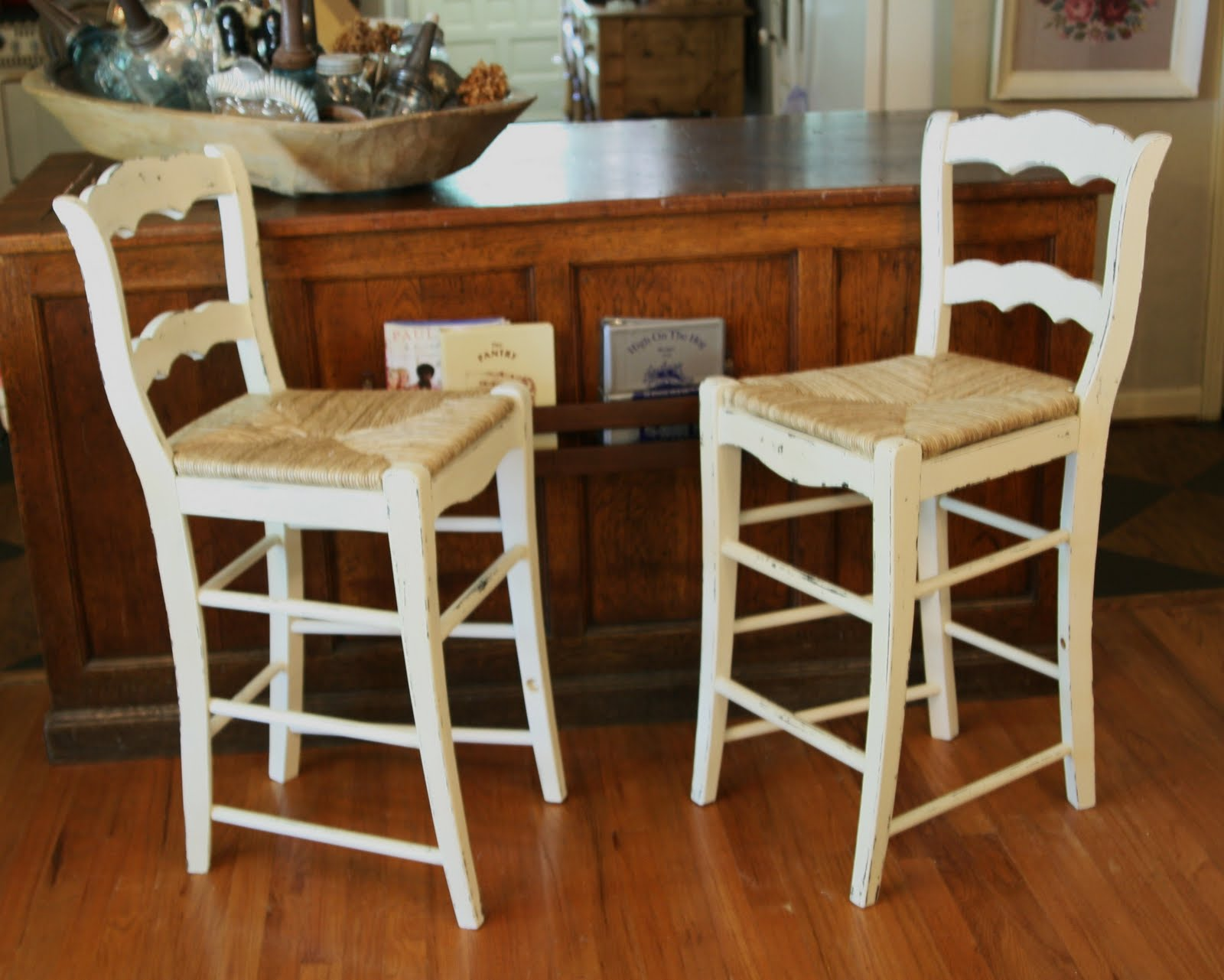 Chalk Paint Bar Stools Lady Butterbug