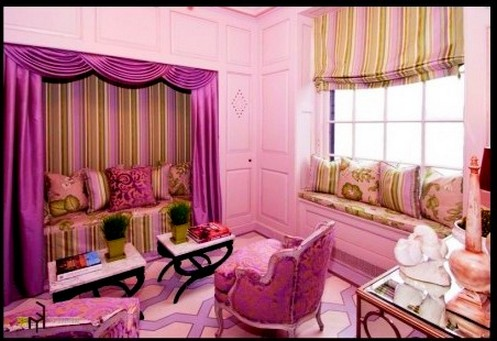 You Can Choose Soft Purple Curtains Or Dark Byzantium And Pretty To Beautify The Room