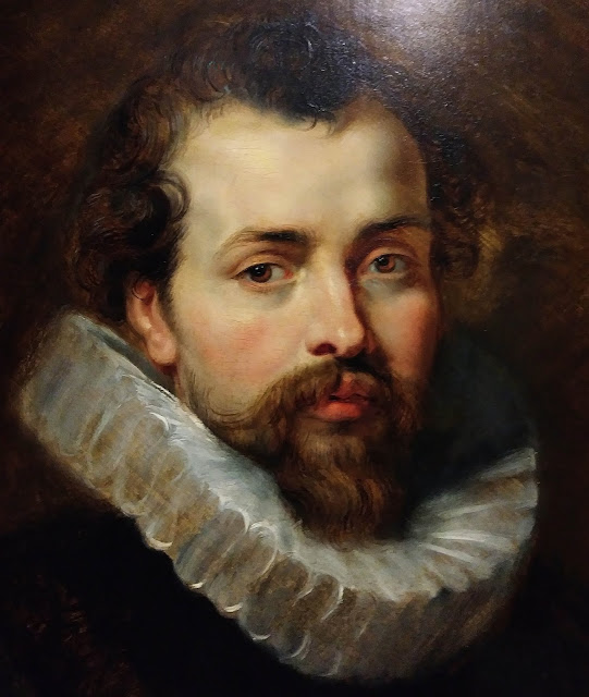 Detail of the Painting by Peter Paul Rubens beginning of 17th Century