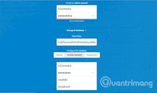 Set up and configure NextCloud server on Windows 10