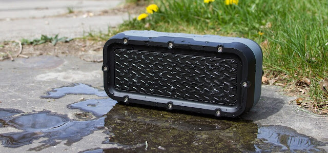 The JAM Xterior Max Rugged Portable Speaker pairs easily with any Bluetooth device and is built to survive on the street
